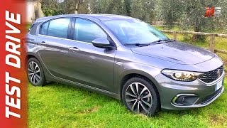 New fiat tipo hatchback 2017 - first test drive ita