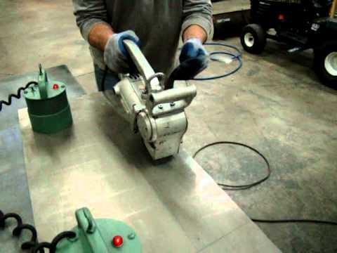 Used Stanley Unishear Sheet Metal Shear Machine 12 Gauge