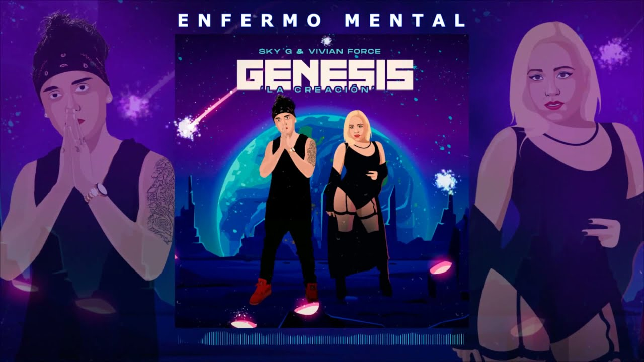 Enfermo Mental ? Sky G, Vivian Force (Official Music) #Reggaeton2021