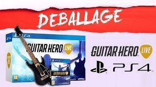 Déballage Guitar Hero Live PS4