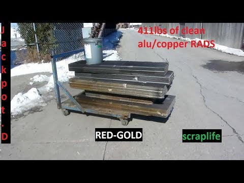 411lbs of copper/alu rad !!!!