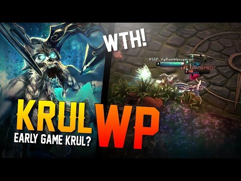 Vainglory - Road to Vainglorious [Gold]: WAIT...EARLY GAME KRUL? Krul |WP| Jungle Gameplay