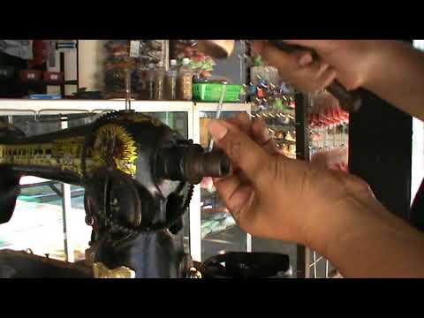 Memperbaiki Mesin Jahit Roda Les Pengatur Panjang Jahitan Posisi