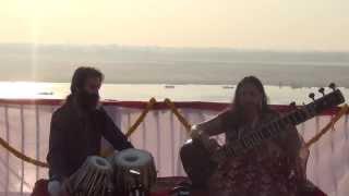 Tal Dadra - Shrabani Sitar y Rafael Tejada tabla Semiclassical music