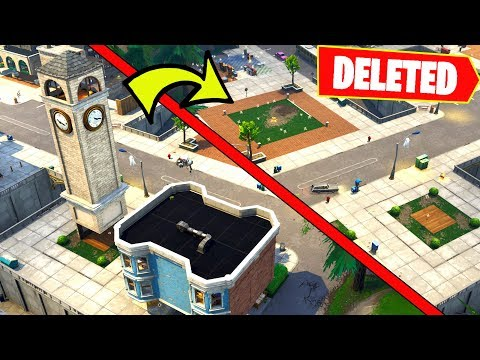 Titled Towers is deleted from Fortnite....