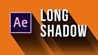Делаем эффект Long Shadow в After Effects +проект - AEplug 223
