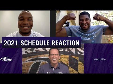 J.K. Dobbins, Calais Campbell React to 2021 Schedule Release   Baltimore Ravens