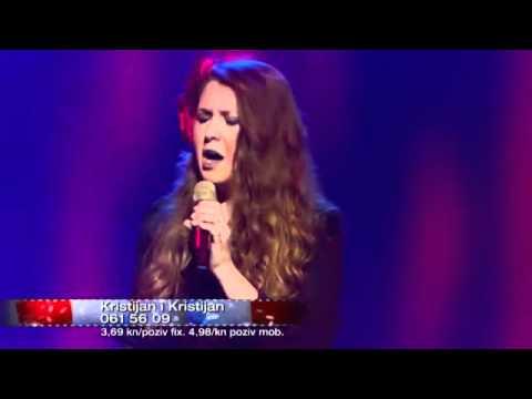 Viktorija Novosel (cantante croata) interpretando