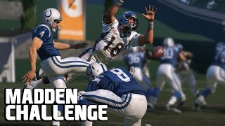 Can Peyton Manning Block a Field Goal? - Madden NFL Challenge