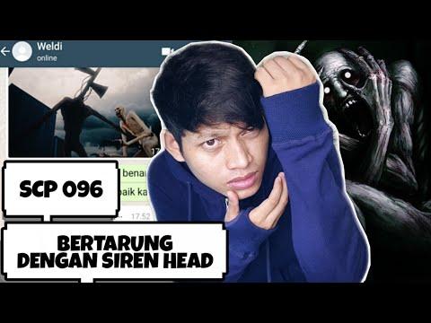 SCP 096 VS SIREN HEAD???? | Chat Story Horror Indonesia #TERSERAM
