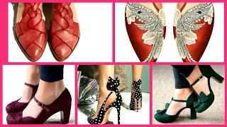 Stylish Beautiful Ladies Footwear Slipper and sandals design