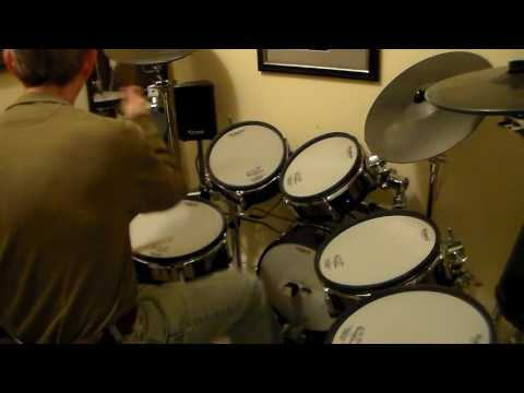 Lights Out - UFO - Drum Cover by Keith B.