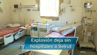La estructura de diversos hospitales que se encontraban cerca del puerto resultó dañada, lo que provocó la suspensión del su funcionamiento