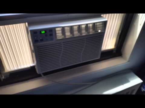 New Ge Window Air Conditioner Youtube