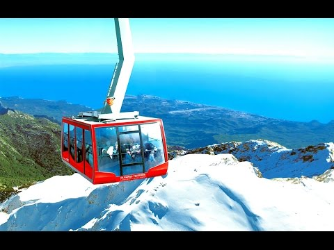 1.The two most amazing Cable car's of Europe.Olympos Seilbahn Kemer.Antalya.Emil.kiris