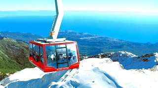 1.The two most amazing Cable car