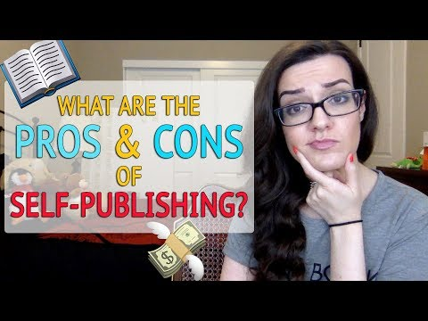 Self Publishing a Book: Pros and Cons