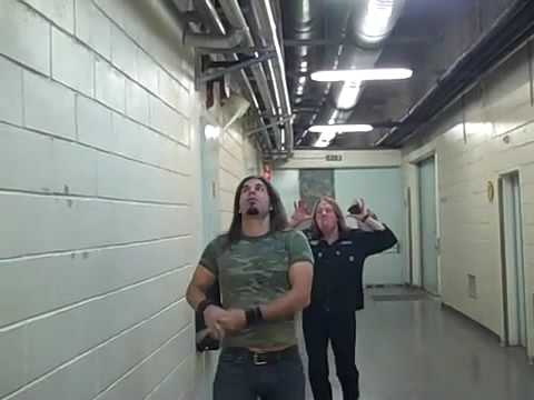 Brian Tichy & Jeff Pilson Before the Show In Lisbon Thumbnail image