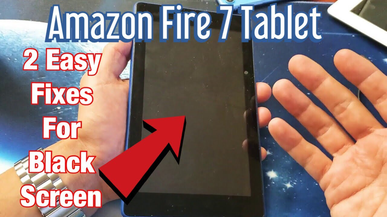 Amazon Fire 7 Tablet: Black Screen 2 Easy Fixes!