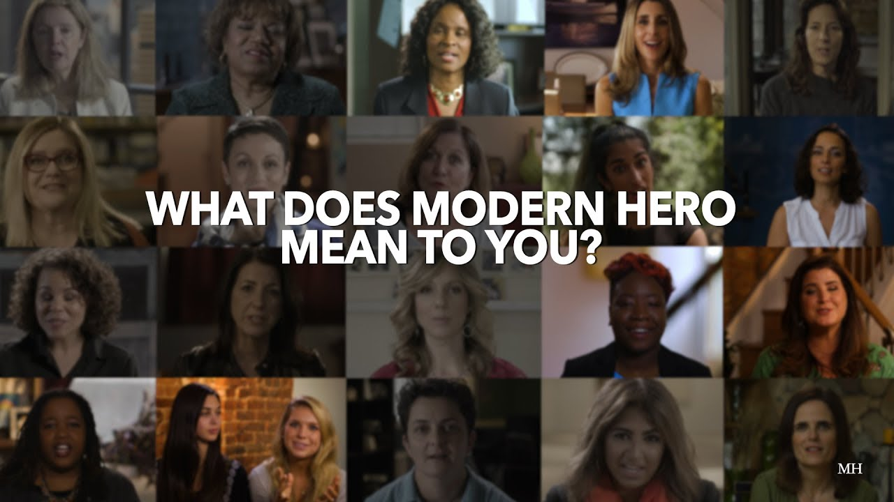 What does modern hero mean to you youtube - What does contemporary mean ...