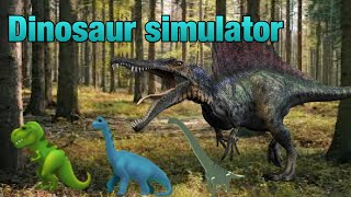 Playing some more roblox this time were playing dinosaur simulator