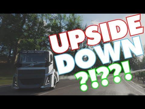 UPSIDE DOWN?!??! Forza Horizon 4 | 88