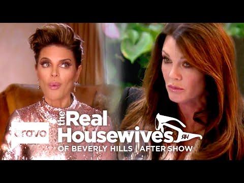 Housewives Accuse Lisa Vanderpump Of 'Leaking' Puppy Gate Story To TMZ | RHOBH After Show (S9 Ep12)