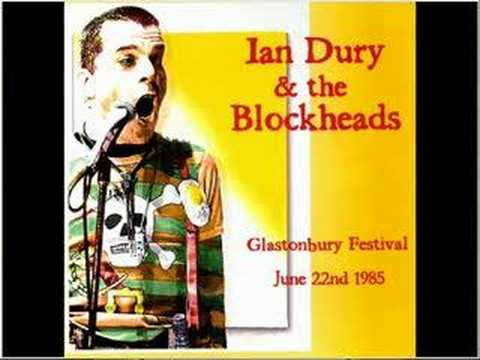 Ian Dury and the Blockheads - Billericay Dickie@Glastonbury
