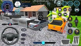 Demo tính năng mở khóa Smart Key và gập gương điện xe TOYOTA VIOS trong game Car Simulator Vietnam