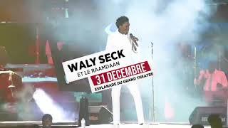 Wally B. Seck - le 31 Décembre 2019 sur l'esplanade du GT