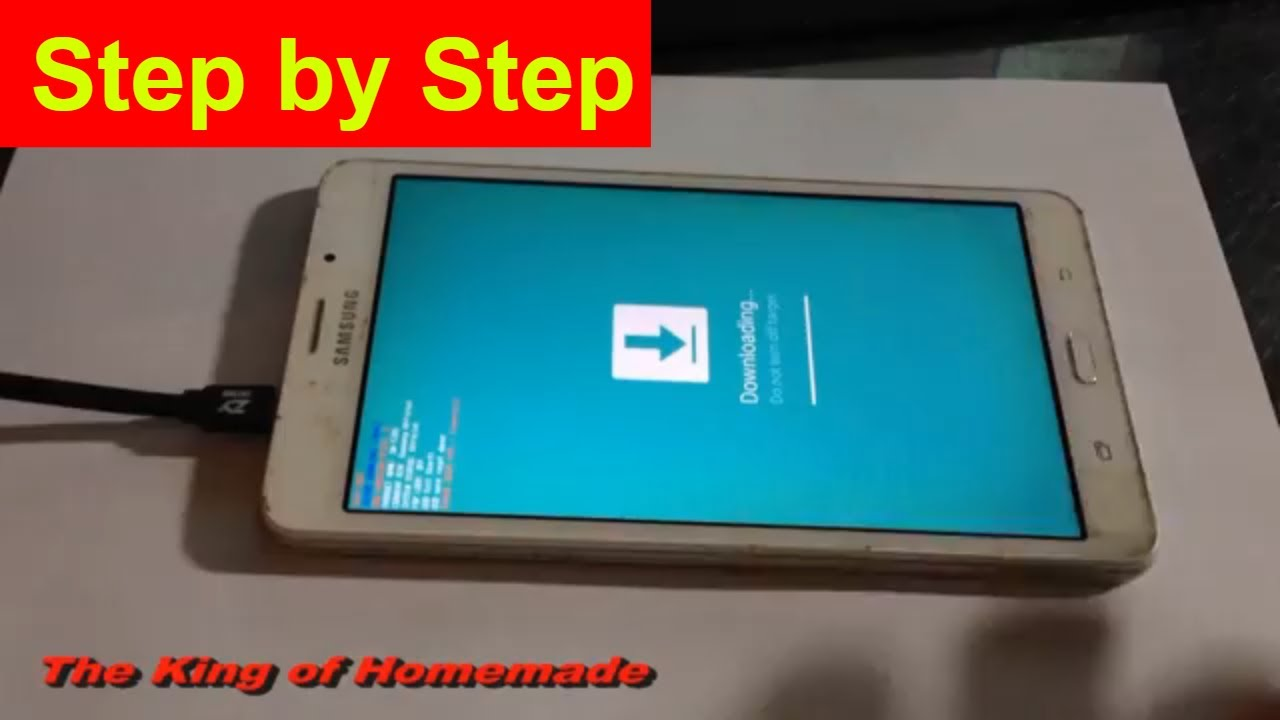 How To Install TWRP ROOT Galaxy Tab A6 SM T285
