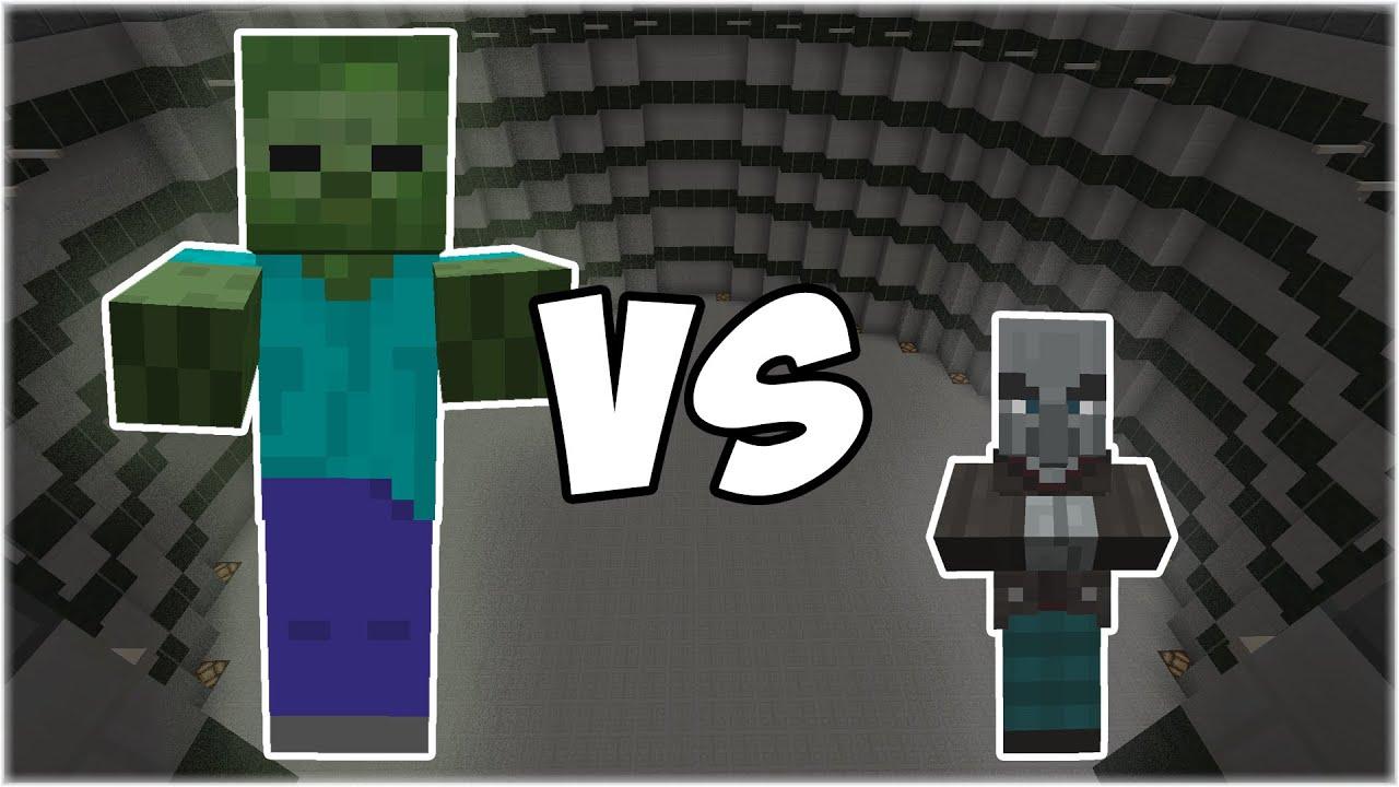 Giant vs Vindicator - Minecraft Mob Battle