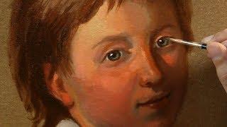 Como pintar retrato a óleo parte 1