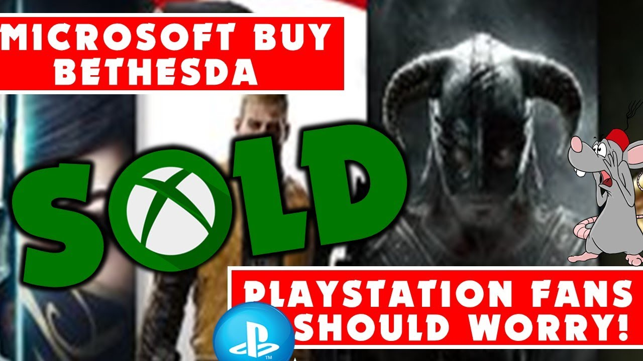 MICROSOFT BUYOUT BETHESDA! HUGE News! What Now For Sony? Elder Scrolls 6 / Starfield Xbox Exclusive?