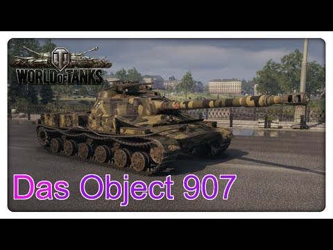 Das Object 907 [Vorstellung - World of Tanks - Gameplay] thumbnail
