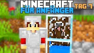 Wie baut man eİne einfache Survivalfarm in Minecraft   Minecraft für Anfänger #7