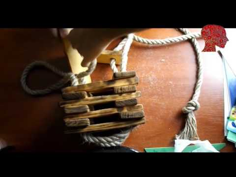 Woodworking # 79 - DIY How to Make Lamp of wood - woodworking