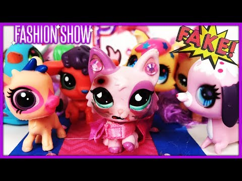 FAKE LPS Beat Me Up! (My New LPS Fashion Show: Episode 2)