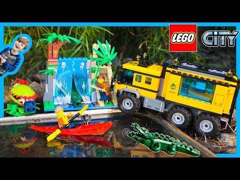 Lego City Jungle Explorers Mobil Lab Truck