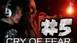 Cry of fear : Опасный школьник с дробовиком xD #5