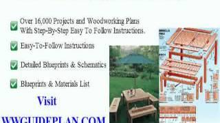 Outdoor Garden Furniture Plans