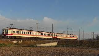 東武6050系6156F東武金崎~楡木通過