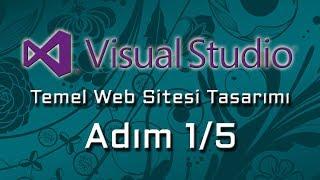 MVC 4 ile Temel Web Sitesi Tasarımı Adım 1 5