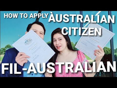 How to apply Australian Citizenship by Conferral (DO IT YOURSELF APPLICATION)