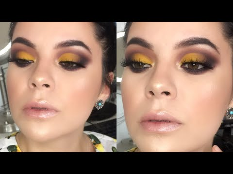 Maquillaje Amarillo Smoke| Angela Garza