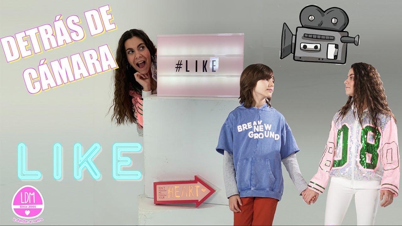 Detrás De Cámara Like La Diversion De Martina Youtube