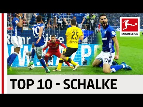Top 10 Goals - Schalke 04 - 2016/17 Season
