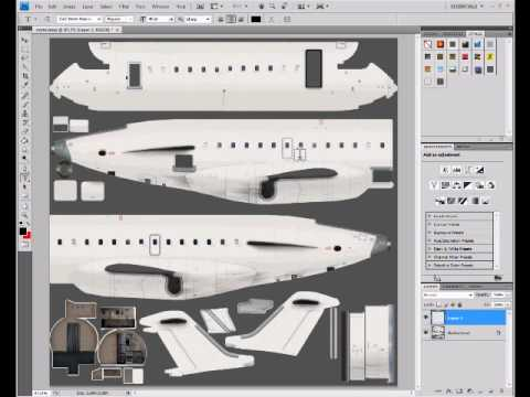 Making Airplane Liveries In Paint
