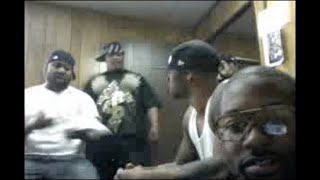 Joe Budden right after getting punched in eye by Raekwon and his goons!