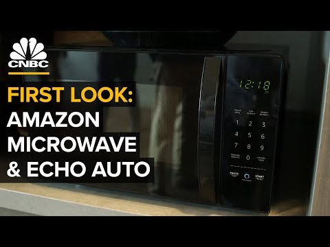 Amazon's New Microwave, Echo Auto And Alexa Hunches